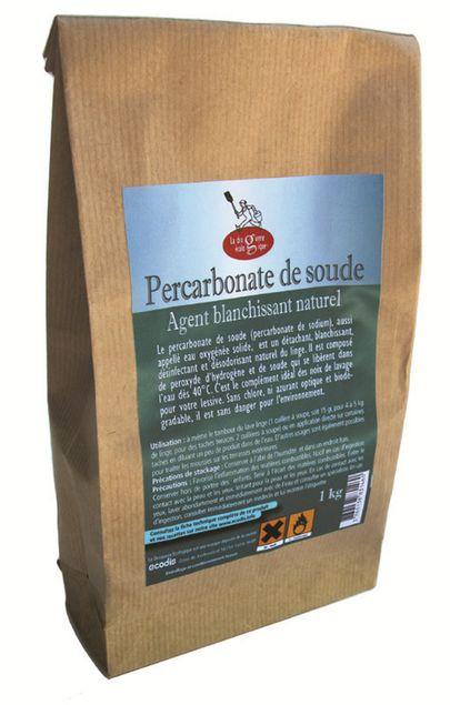 PERCARBONATE DE SOUDE - EAU OXYGENEE SOLIDE