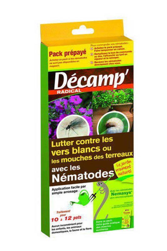 nematodes contre les vers blancs ou mouches des terreaux - ferme